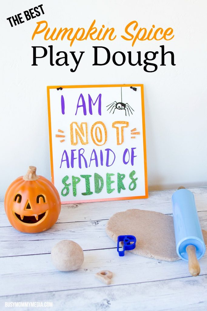The Best Pumpkin Spice Play Dough