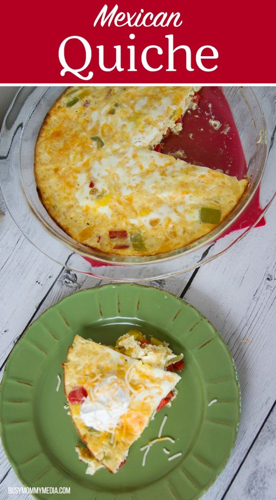 Mexican Quiche - The tastiest way to stay healthy this winter