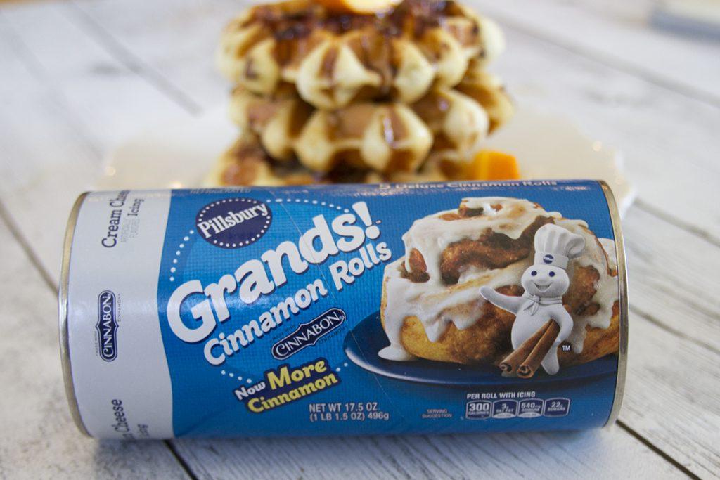 Pillsbury Cinnamon Roll Waffles