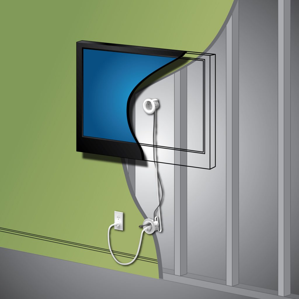 Legrand in wall power kit