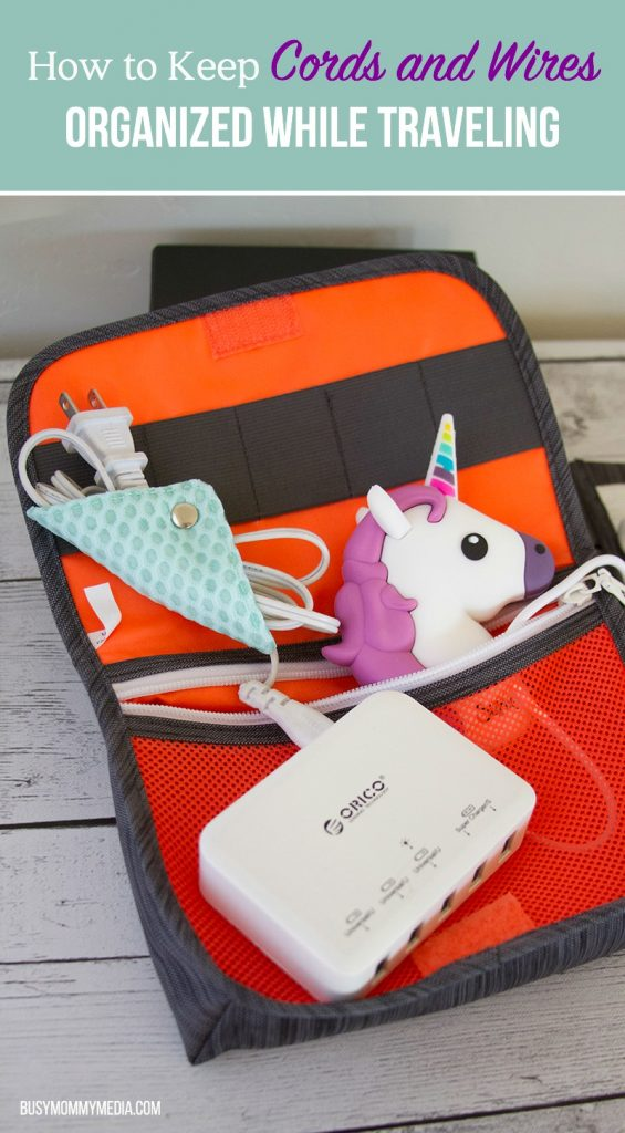 How to Keep Cords and Wires Organized While Traveling