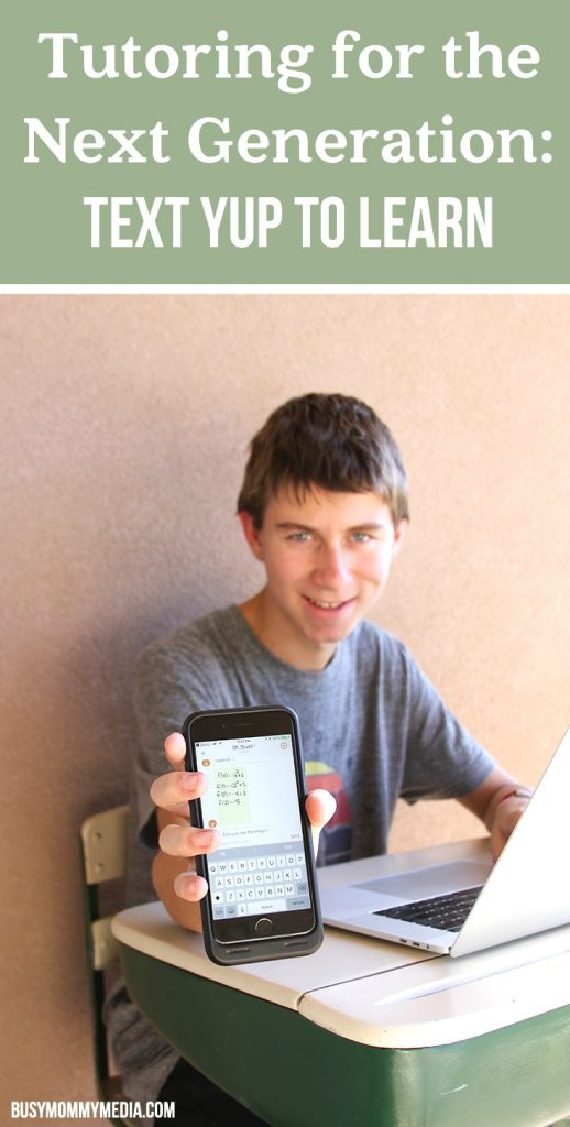 Tutoring for the Next Generation: Text Yup to Learn
