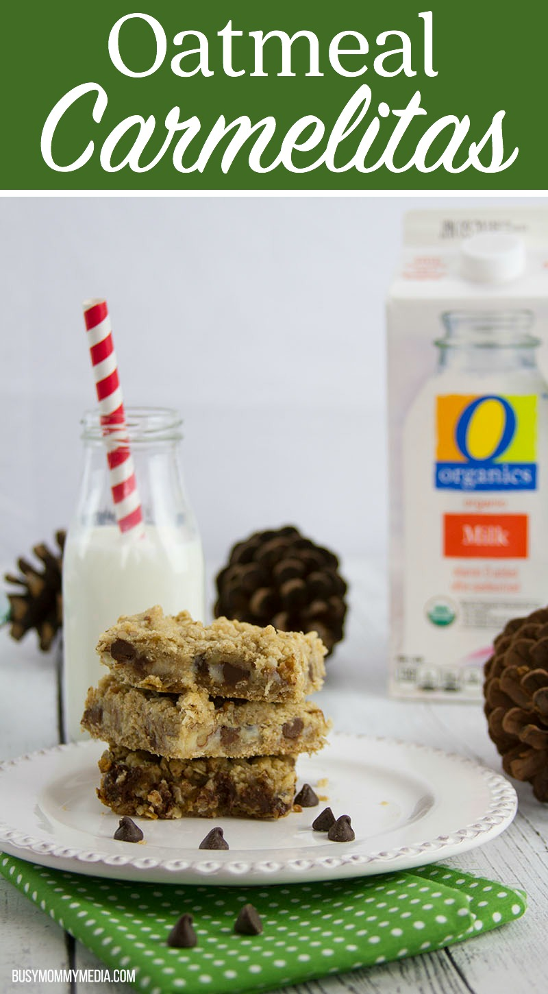 Oatmeal Carmelitas | These are the perfect holiday treat!