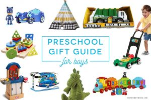 Preschool Gift Guide For Boys