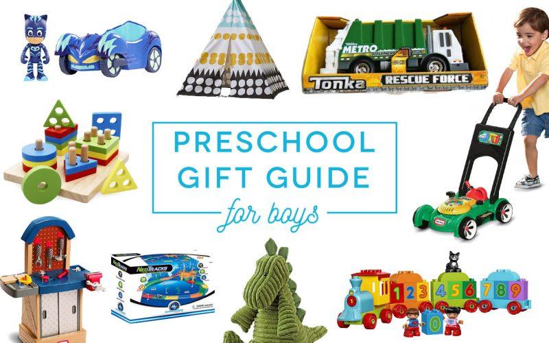 Preschool Gift Guide For Boys