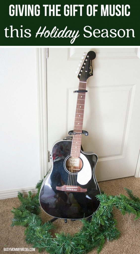 Giving the Gift of Music this Holiday Season with Fender
