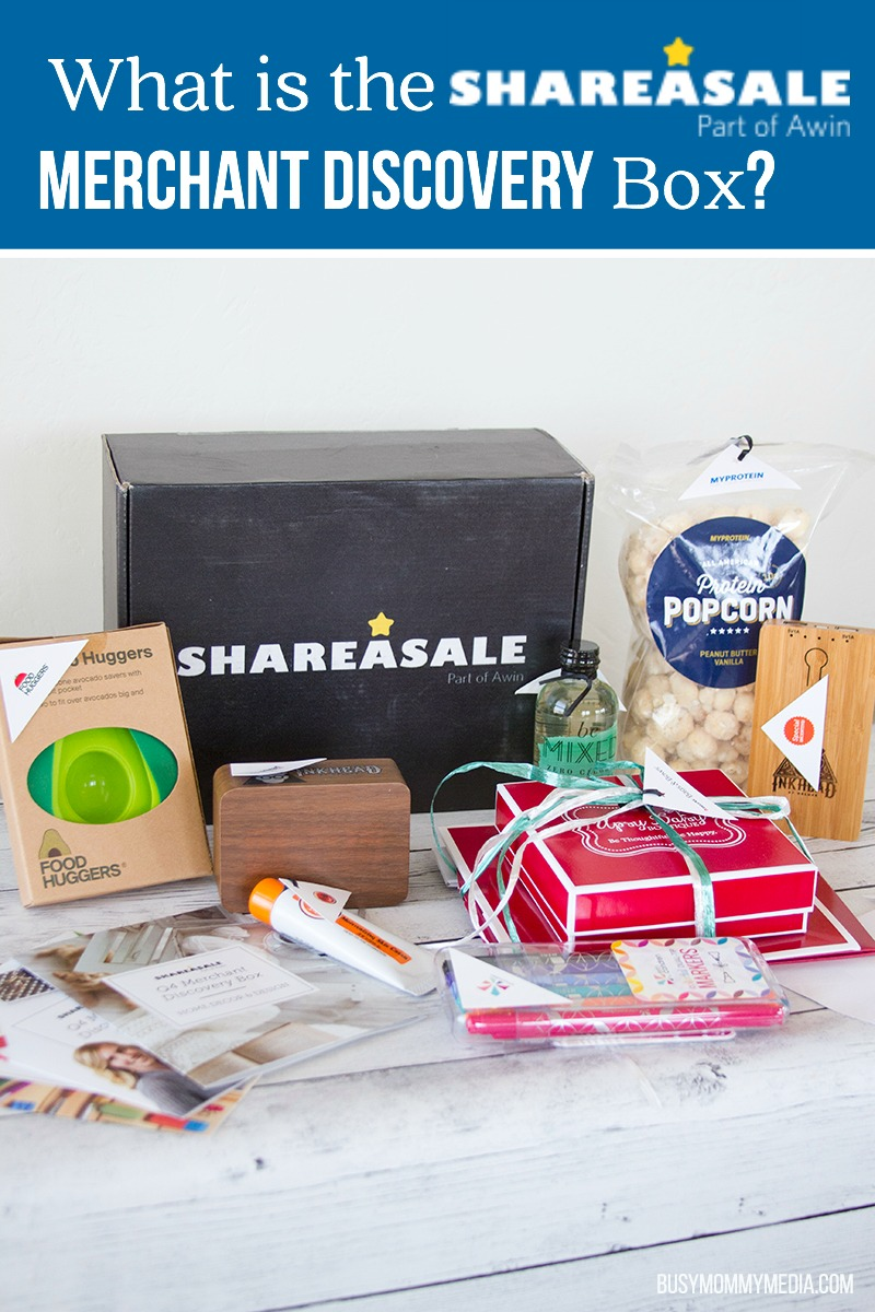 What is the ShareASale Merchant Discovery Box?