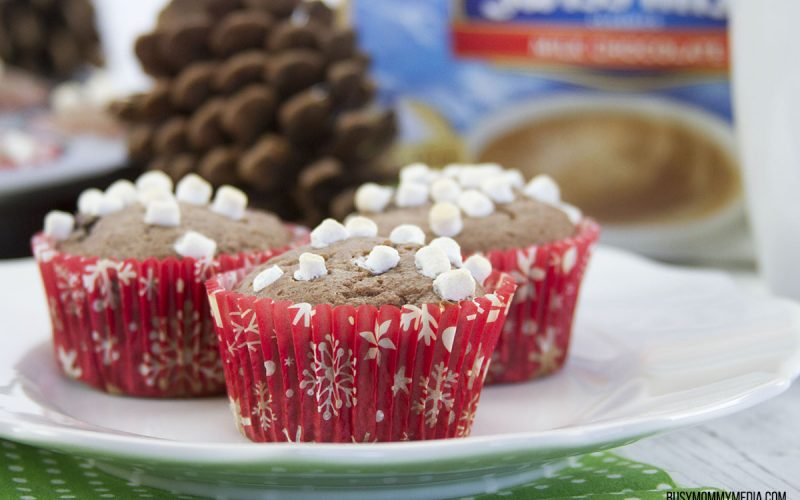 Hot Chocolate Muffins