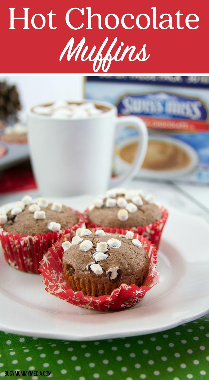 Swiss Miss Hot Chocolate Muffins