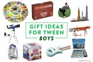 Gift Ideas for Tween Boys