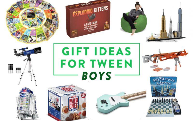Gift Ideas for Tween Boys