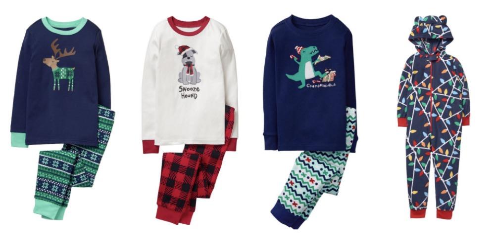 Christmas pajamas for boys