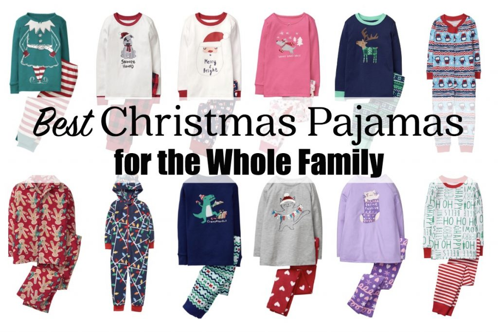 Best Christmas Pajamas for the Whole Family