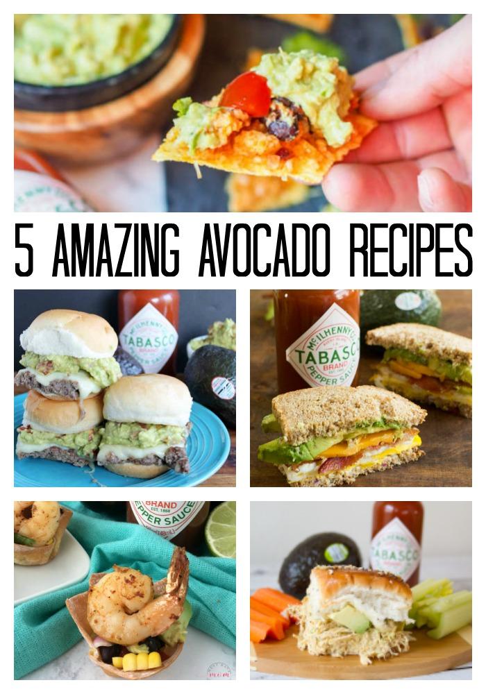 5 Amazing Avocado Recipes