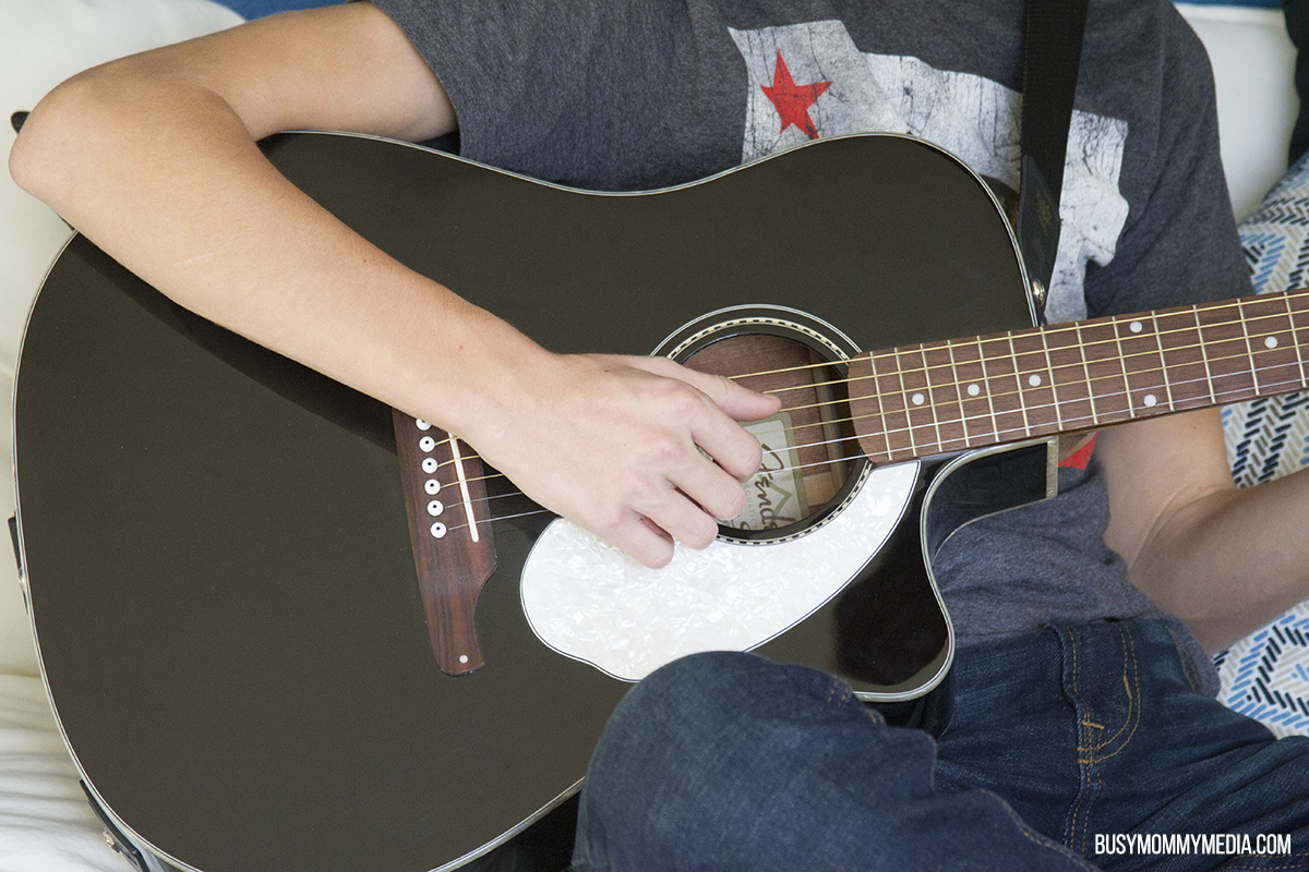 Teaching your Teen to Play the guitar