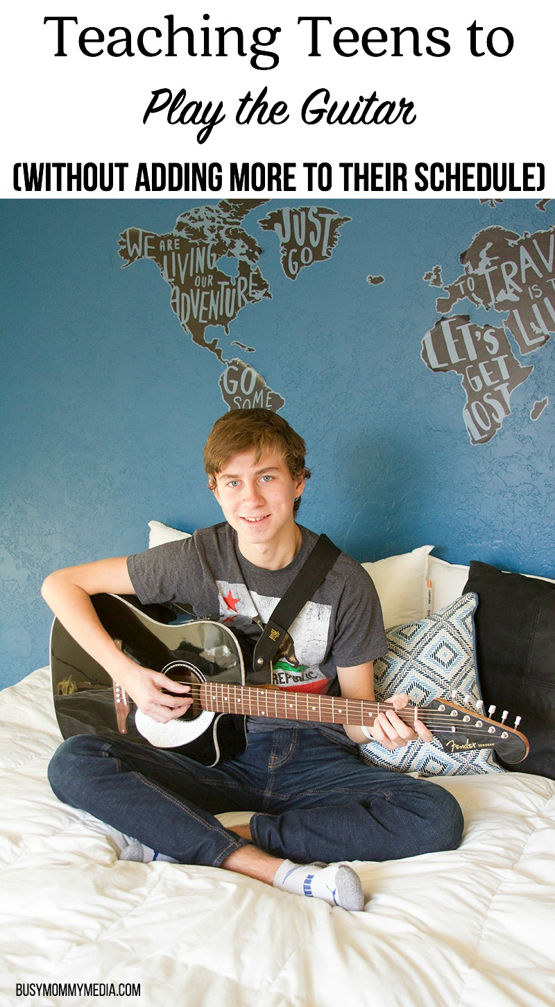 Teaching Teens to Play the Guitar (without Adding More to their Schedule)