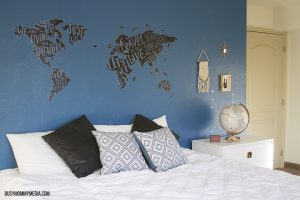 Refreshing a Teen Bedroom for Under $100