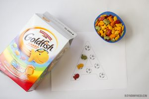 Goldfish Alphabet Game for Preschoolers
