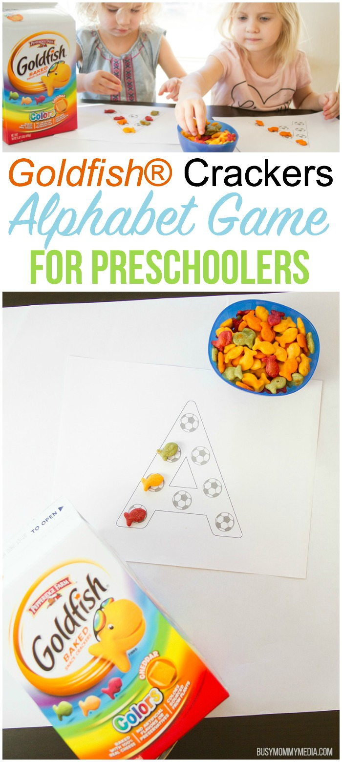 Alphabet Game for Preschoolers