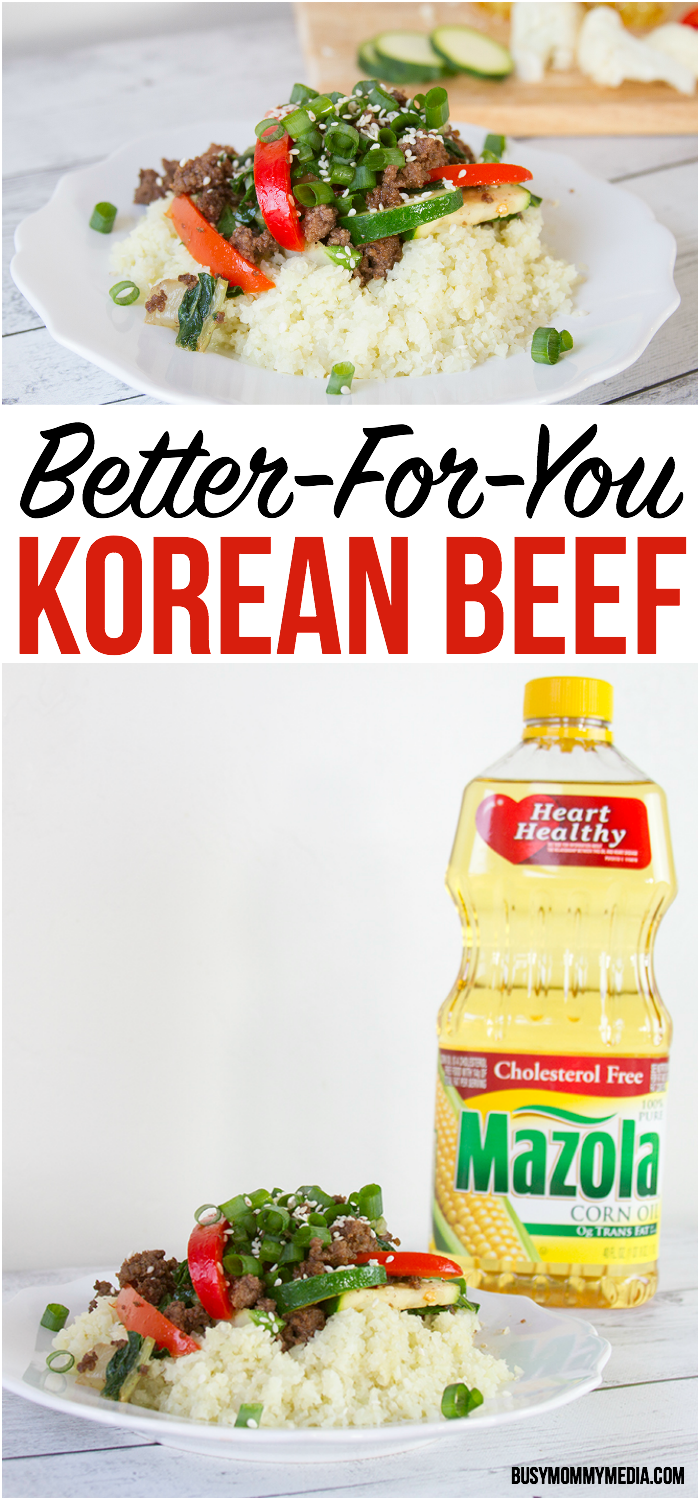Better-For-You Korean Beef