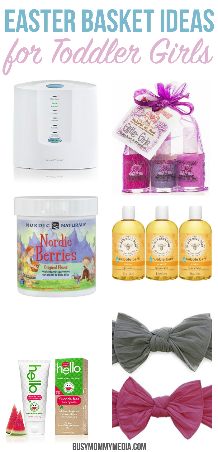 Personal Care Items for Toddler Girl Easter Baskets