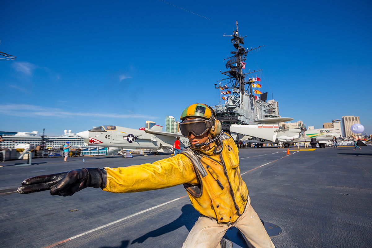 USS Midway Aircraft Carrier Museum