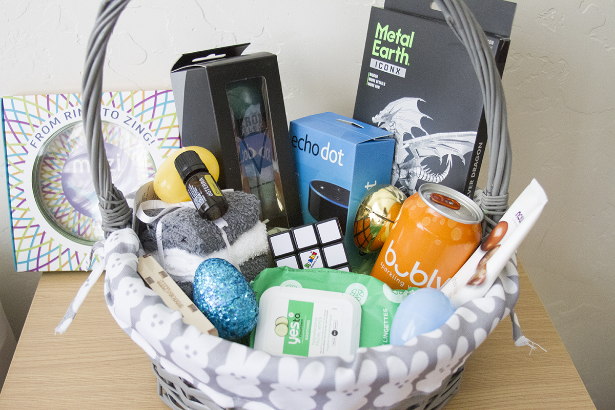 Easter basket ideas for teen boys teen boy easter basket negle Image collections
