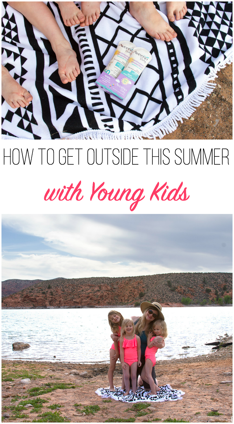 How to Get Outside This Summer with Young Kids