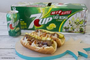 Upgrade your Summer: Brats with Spicy 7UP Sauce