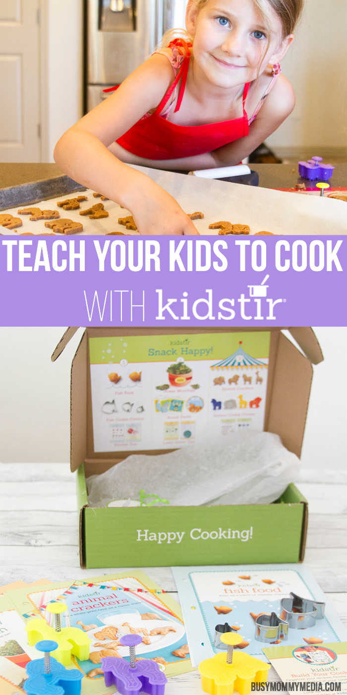 Teach your Kids to Cook with Kidstir