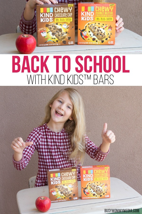 Back to School With Kind Kids Bars