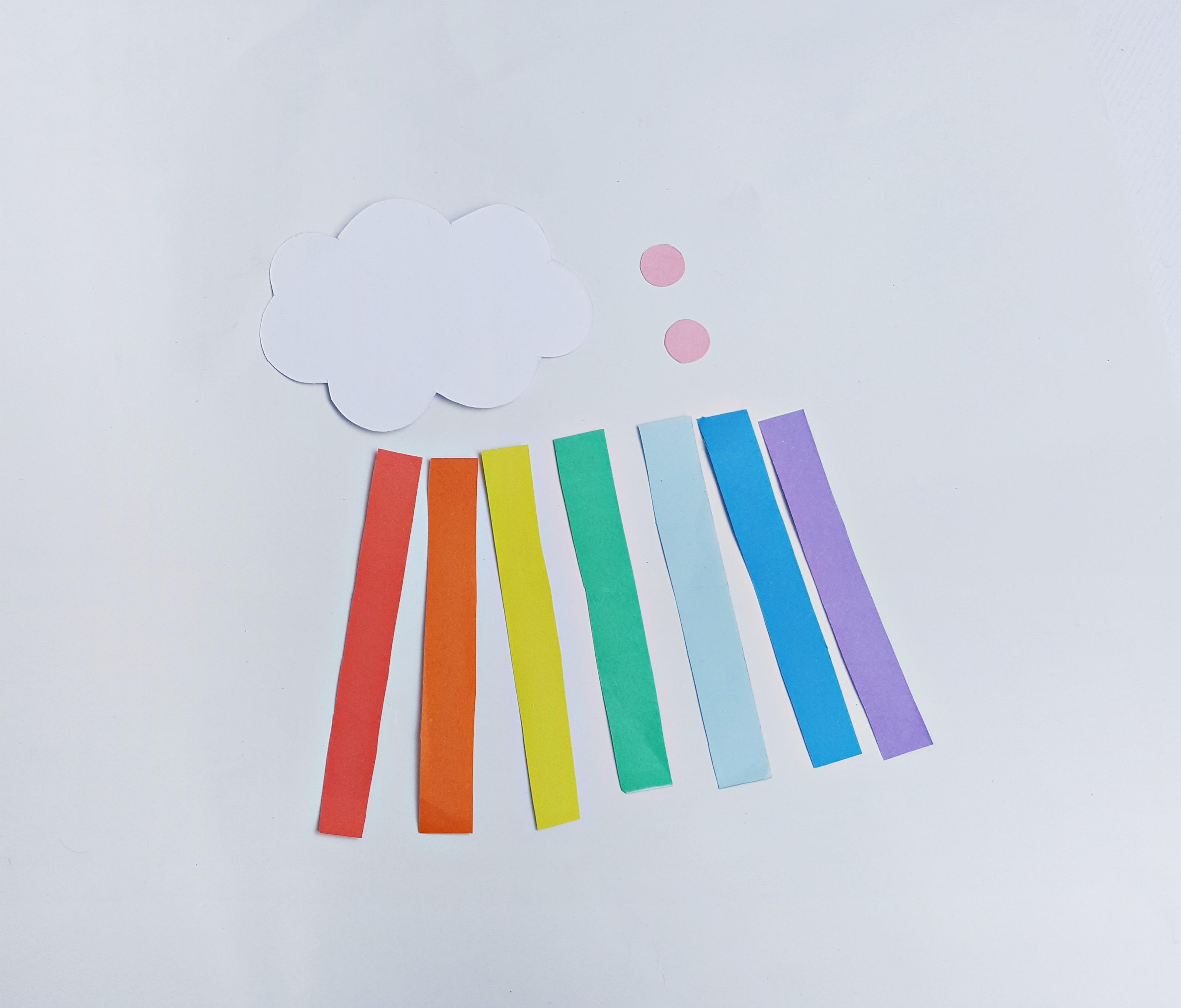 Rainbow Cloud Craft