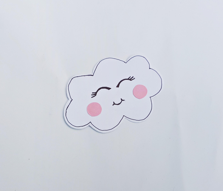 Rainbow Cloud Craft for Kids