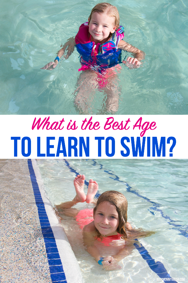 What is the Best Age to Learn to Swim?