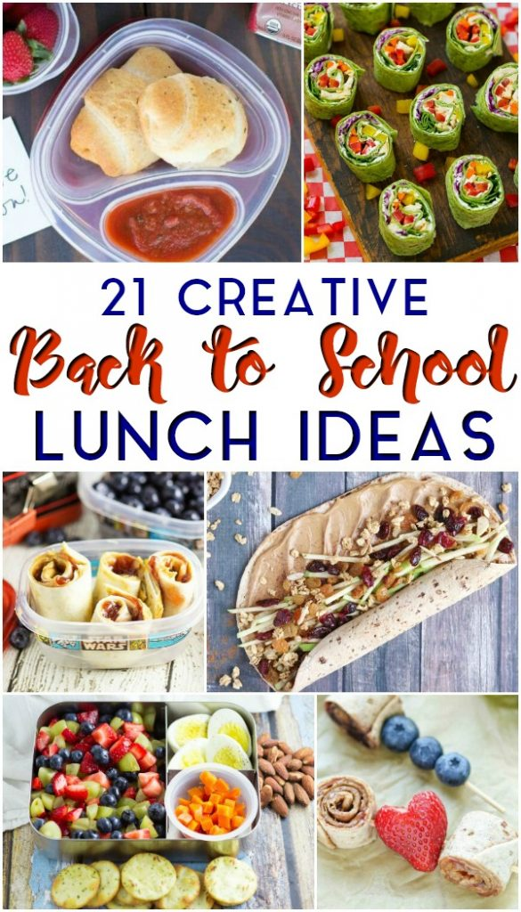 21 Creative Back to School Lunch Ideas