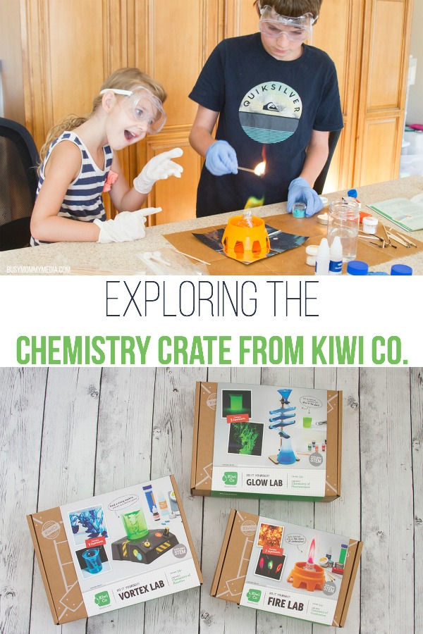 Exploring the Chemistry Crate from Kiwi Co.