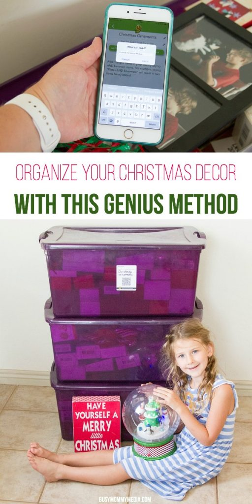 Organize your Christmas Decor with this Genius Method