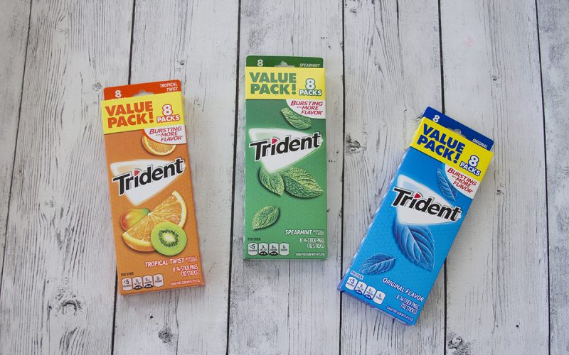 Back-to-School Trident Deal (+ Enter to Win Walmart Gift cards!)