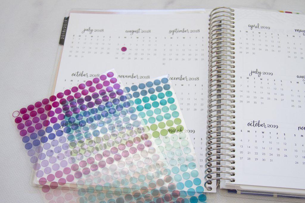 Deluxe Monthly Planner from Erin Condren