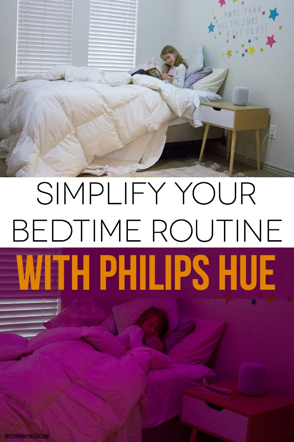 Simplify your Bedtime Routine with Philips Hue
