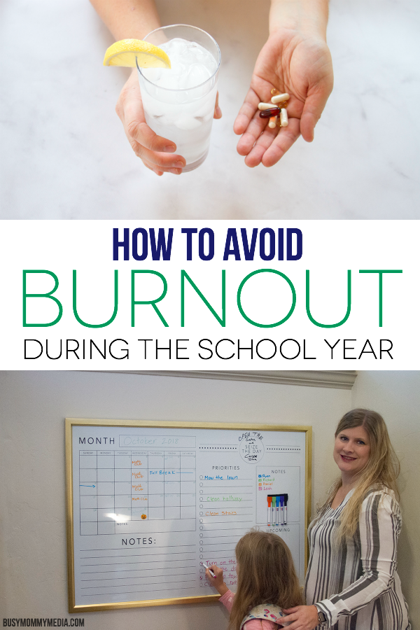 How To Avoid Burnout During The School Year