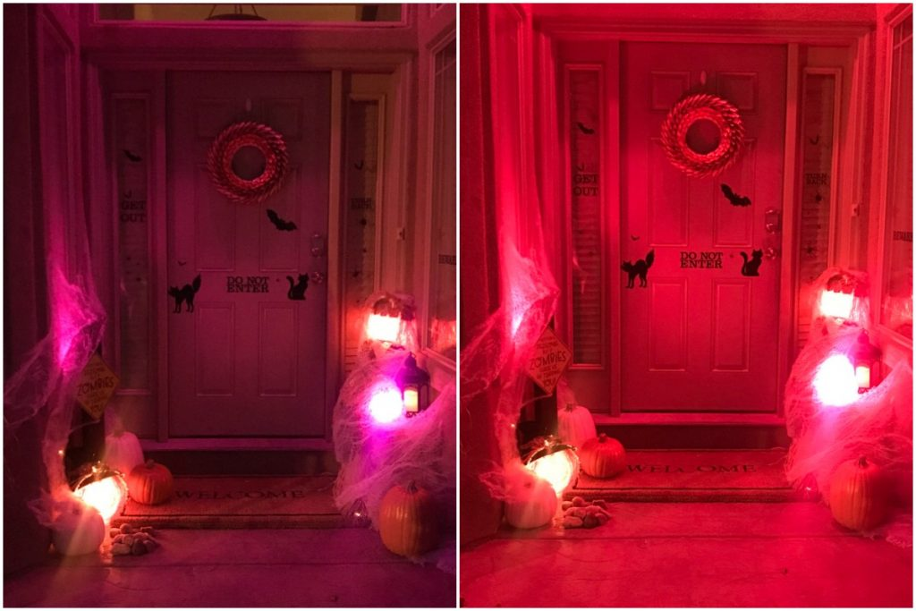Hue Go Lights for Halloween