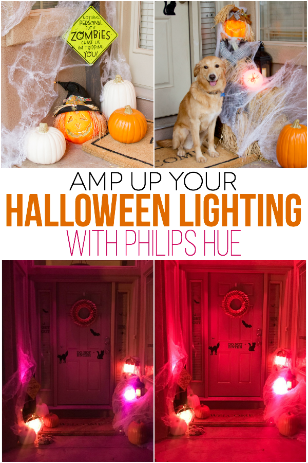 Amp up your Halloween Lighting with Philips Hue