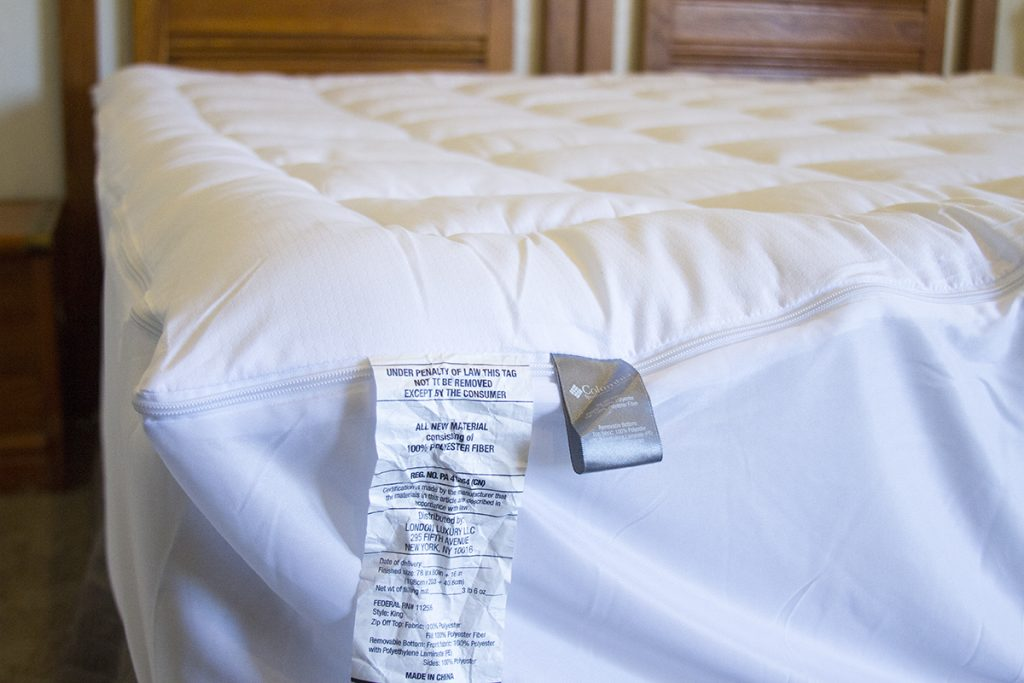 Columbia Mattress Pad Review
