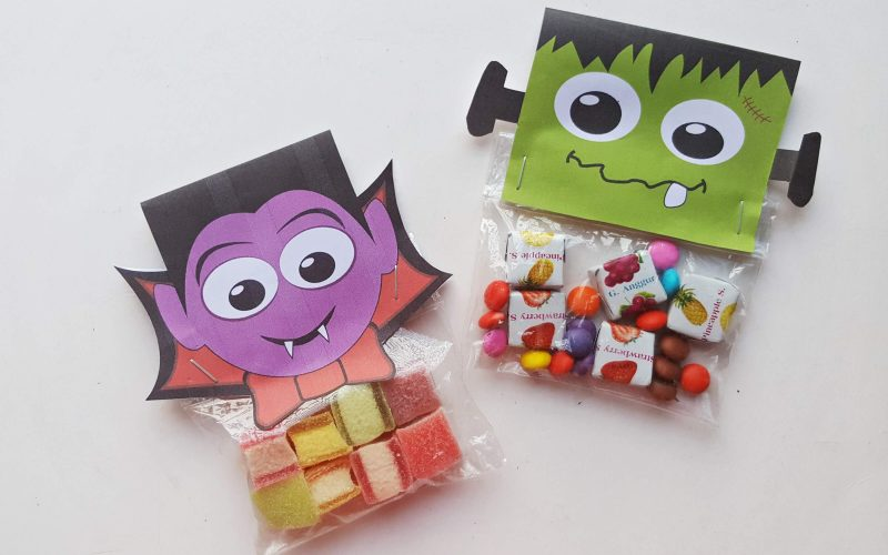 Printable Halloween Treat Bags