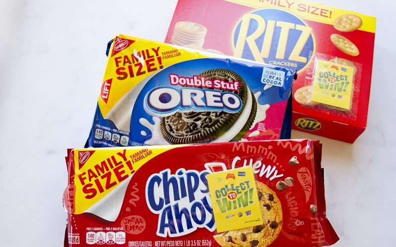 Collect To Win at Walmart with Family Size Snacks