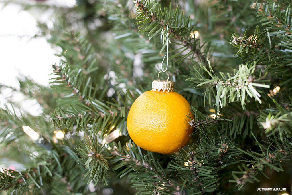 Mandarin Ornament