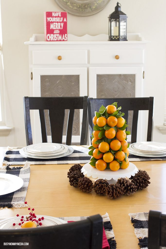 Citrus-themed table