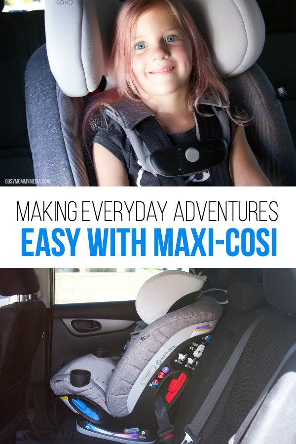Making Everyday Adventures Easy with Maxi-Cosi