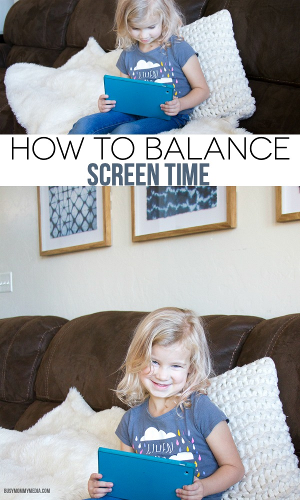 How to Balance Screen Time